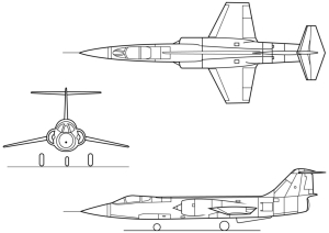 F-104_3-view