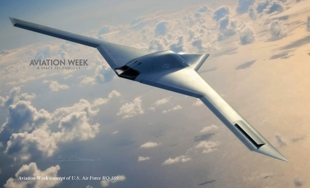 Aviation Week's concept of the RQ-180