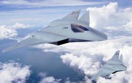 Boeing's F/A-XX concept, manned and unmanned