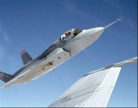 X-35 in-flight