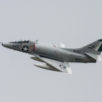 The First Flight Of The A-4 Skyhawk