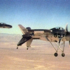 The First Flight Of The Lockheed XFV