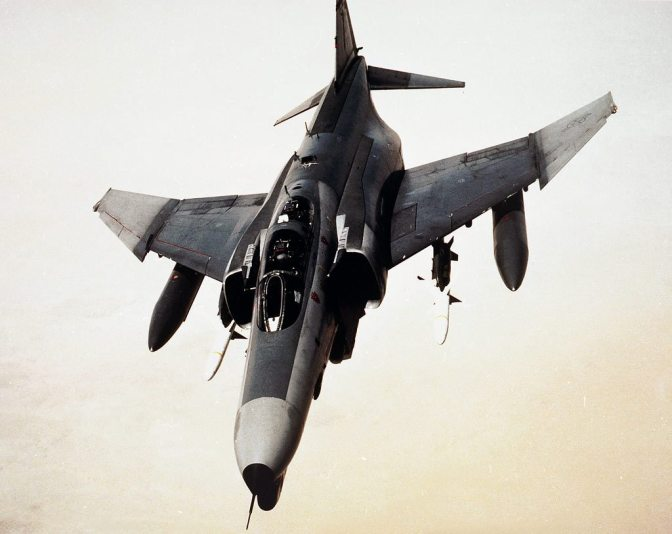 An F-4G Advanced Wild Weasel during Operation Desert Storm (U.S. Air Force)