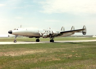 """DAYTON, Ohio -- Lockheed VC-121E """"Columbine III"""" at the National Museum of the United States Air Force. (U.S. Air Force photo)"""