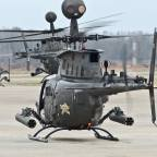 Scouts Out! 7-17 CAV Flies Its Last Training Evolution with the OH-58D