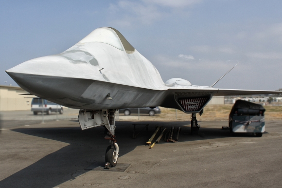 A YF-23 prototype at the Western Museum of Flight in Torrance, CA. Copyright: Alan Kenny, 2013