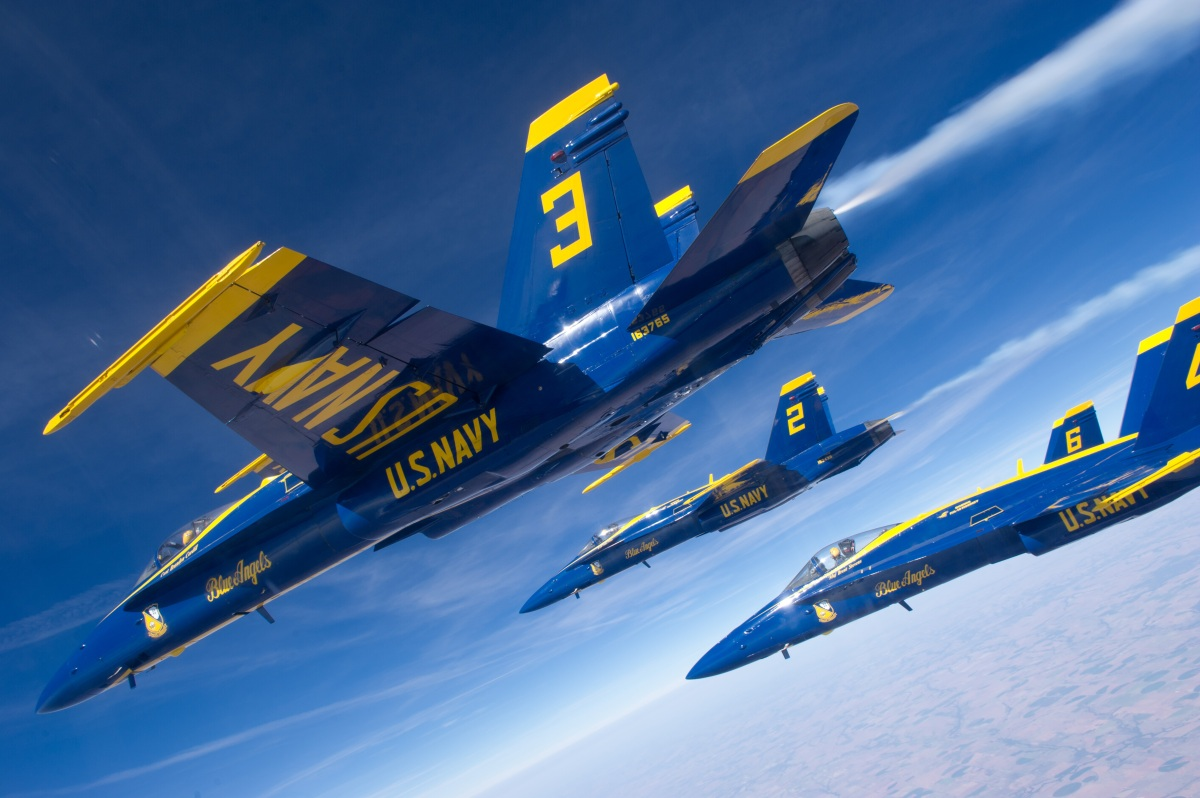 the blue angels need to find a suitable replacement for their aging