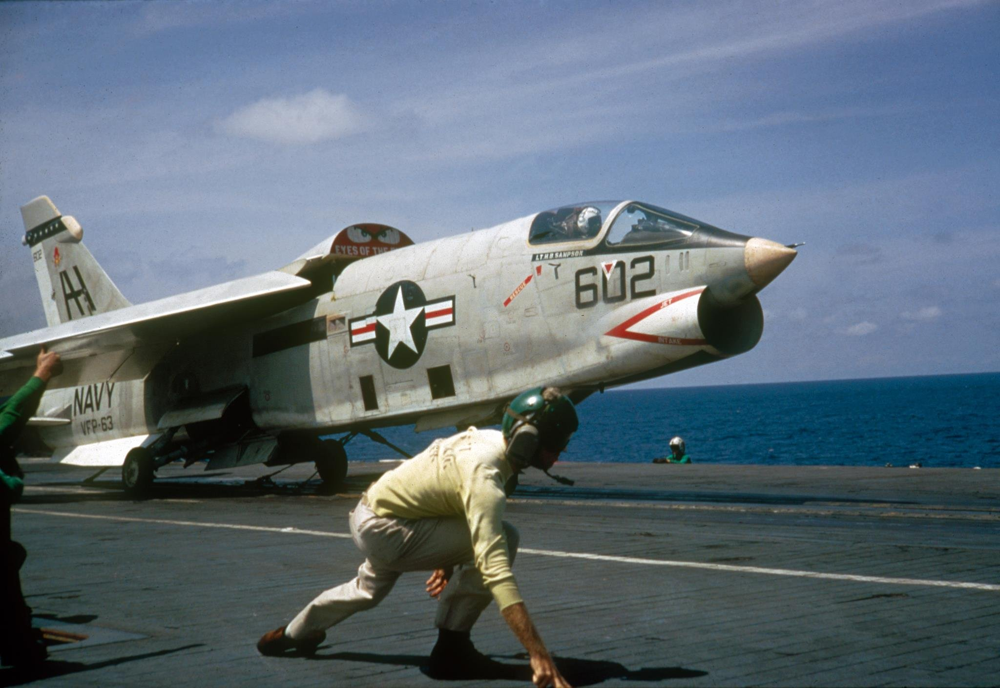 The F-8 Crusader Once Scared A Vietnamese MiG Pilot Into