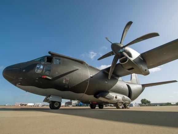 C-27J Spartan multi-mission version. (Copyright: Alenia Aermacchi)
