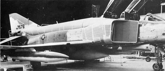 The F-4X mockup. (public domain)
