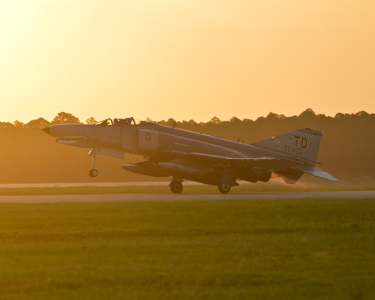 tyndall afb bids pharewell to the phantom the tactical