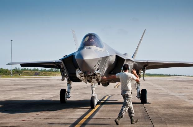F-35A maintenance