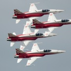 Take a Ride With the Swiss Air Force's F-5 Jet Demo Team