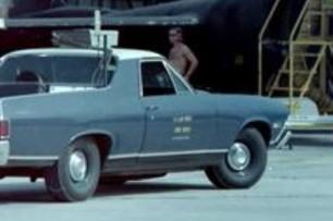 A USAF El Camino, circa 1969. (Author unknown)