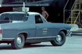 A USAF El Camino, circa 1969. (Author unknown)