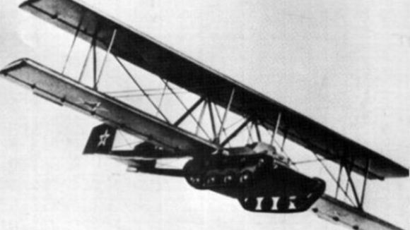A model of the A-40 with the kit installed.