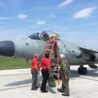 The World's Only Civilian-Owned Harrier Will Join the Syracuse Airshow to Honor the Fallen Blue Angel Pilot
