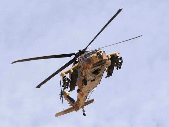 A UH-60 Black Hawk with a Level 3 Battlehawk kit. (Author unknown)
