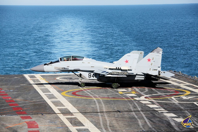 MiG-29KUB_ carrier-based_multirole_fighter_aircraft_Russia_Navy