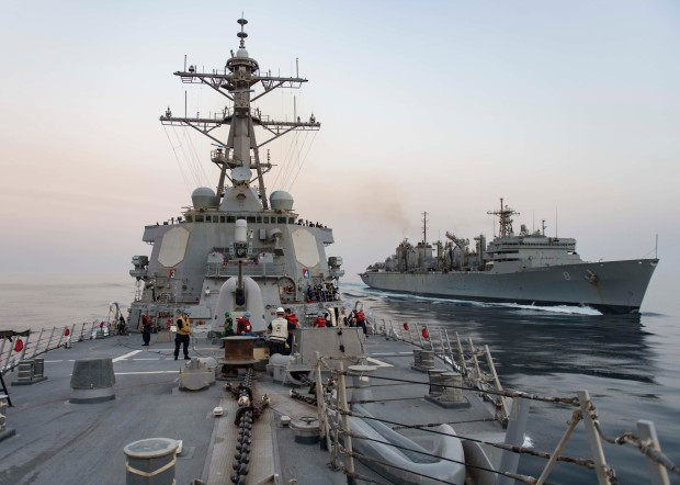 USS STOUT (DDG 55) DEPLOYMENT 2016