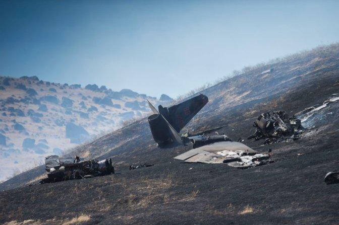Spy Plane Crash